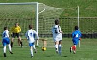 Zápas najmladších nádejí na futbalovom štadióne v Košeci