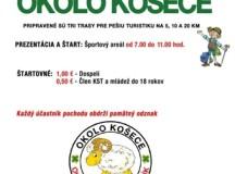 Pozvánka na 3. ročník turistického pochodu Okolo Košece