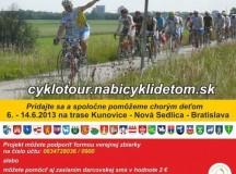 Dnes krátko po 14-tej hodine sme účastníkov cyklo tour privítali aj v Košeci
