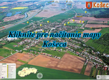 Interaktívna mapa obce Košeca