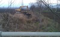 Vyčistenie koryta Nozdrovického potoka
