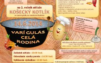 Pozvánka na KOŠECKÝ KOTLÍK 2014  – 2. ročník súťaže vo varení gulášu