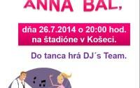Pozvánka na ANNA BÁL 2014