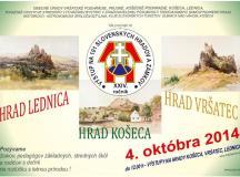 Pozvánka na výstupy na 101 hradov a zámkov