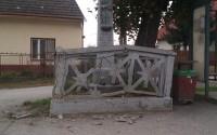 Zničený kríž