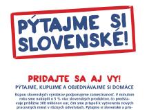 Národný deň podpory ekonomiky Slovenska – Pýtajme si slovenské