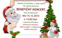 Pozvánka na benefičný koncert