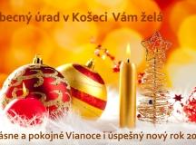 Príjemné prežitie Vianoc a šťastný nový rok