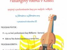 Pozvánka na FAŠIANGY v Košeci