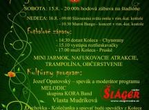 Program na KOŠECKÉ HODY 2015
