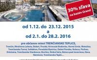 Kúpele v regióne 2015-2016 s výhodami aj pre občanov Košece