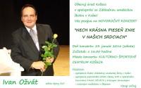 Pozvánka na koncert do Košece