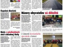 Propagácia obce v regionálnom týždenníku