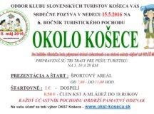 Pozvánka Okolo Košece 2016 – turistika