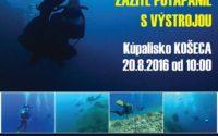 Potápačský deň v Košeci