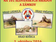 Výstup na stojeden slovenských hradov a zámkov
