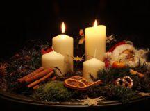 Zapálenie druhej adventnej sviece