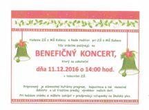 Benefičný koncert