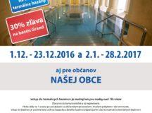 Kúpele v regióne – aj túto sezónu so zľavou pre obyvateľov Košece