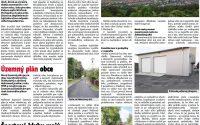 Košeca v regionálnych novinách – informácie o obci