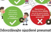 Kam s ojazdenými pneumatikami – informácie pre občanov