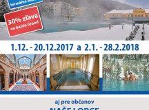 Kúpele v regióne – zľavy aj pre občanov Košece v Trenčianskych Tepliciach