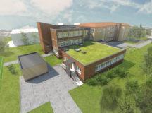 Štúdia prístavby budovy základnej školy