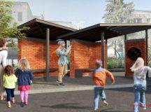 Návrh dizajnu autobusových zastávok