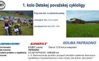 Pozvánka pre detských cyklistov do Papradna