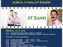 Oficiálny plagát – pozvánka na Dni obce – program na nedeľu a pondelok