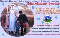 Mikulášska opekačka turistov v Košeckej doline