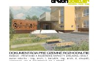 Projekt prístavby budovy ZŠ v Košeci pre územné konanie