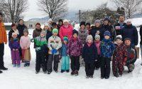 Ako sme v Košeci snehuliakov stavali