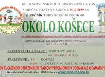 Pozvánka na turistiku OKOLO KOŠECE 2019