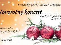 Novoročný koncert v Rímsko-katolíckom kostole v Košeci – 05. januára 2020